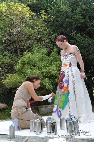 Die Trauer verarbeiten mit dem Hochzeitskleid