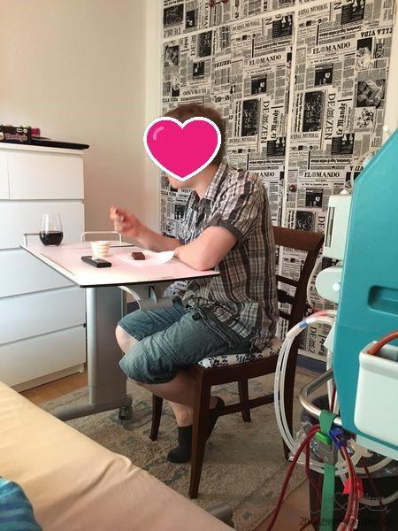 Heimdialyse mit meinem Mann