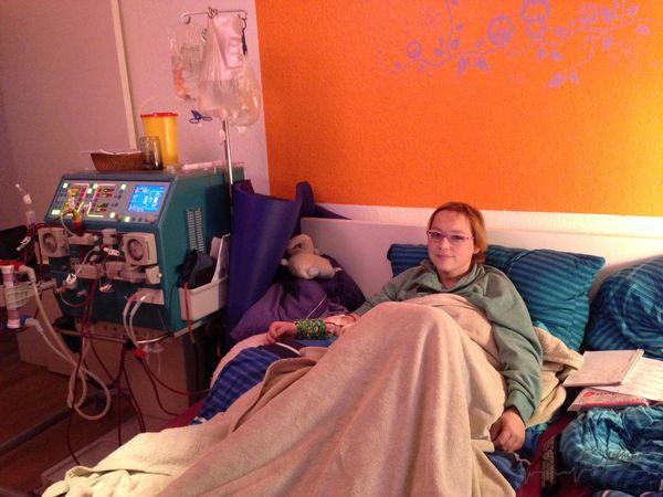 das erste Mal Dialyse allein daheim