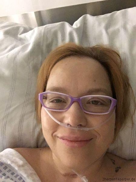 am Abend nach der Nierenlebenspende war ich ziemlich aufgeschwemmt