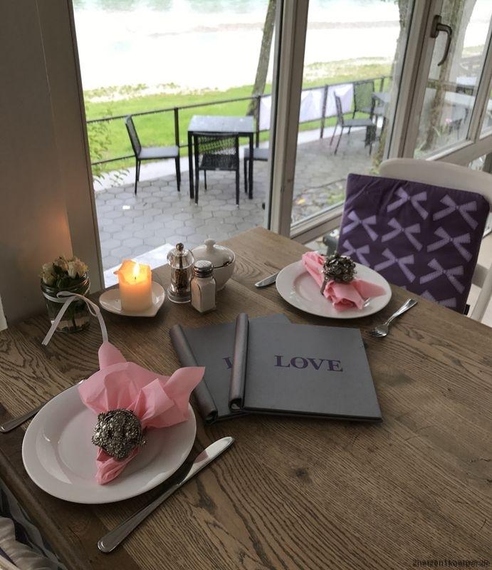Außwärts essen in der Reha im Cafe Love