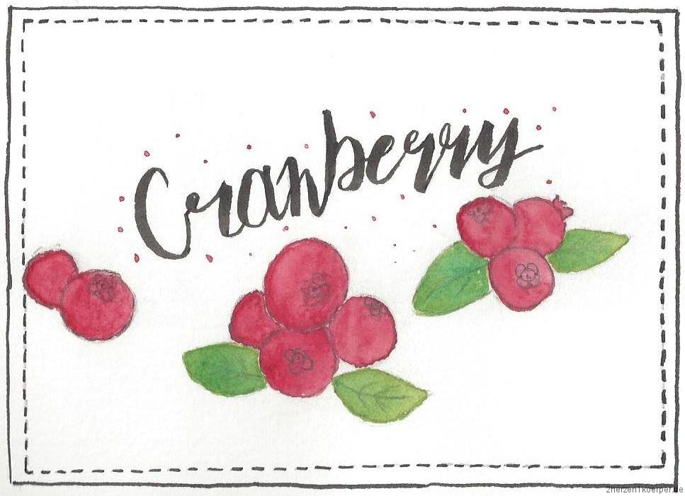Cranberry hilft mir gegen Blasenentzündung