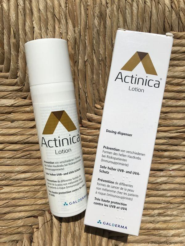 Actinica- Sonnenschutz gegen Hautkrebs