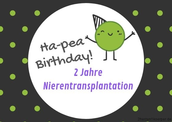2 Jahre Nierentransplantation