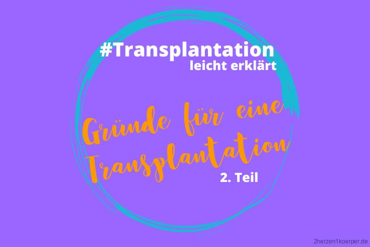 Die häufigsten Gründe für eine Transplantation der Niere, der Pankreas und des Dünndarms